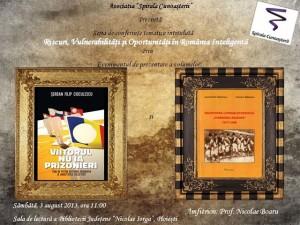 Invitaţie la seminar cultural, la Biblioteca Judeţeană
