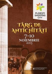 """""""Târg de antichităţi"""", la Ploieşti Shopping City"""