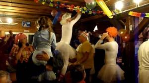 Carnaval la cabană