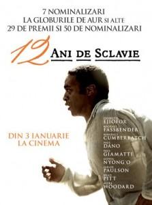 """""""12 ani de sclavie"""",  la Cinema """"Premiera"""" din Ploieşti"""