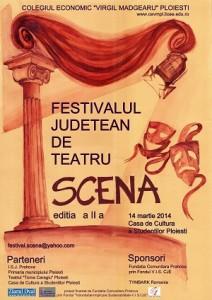 """Festivalul judeţean de teatru """"SCENA"""", ediţia a II-a"""