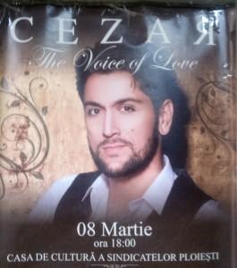 La Ploieşti de 8 Martie cântă Ducu Bertzi, dar şi Cezar Ouatu