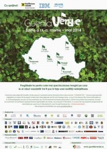 Caravana Guerilla Verde va ajunge în Ploieşti