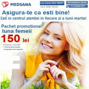 Medsana oferă un cadou deosebit femeilor, în această lună