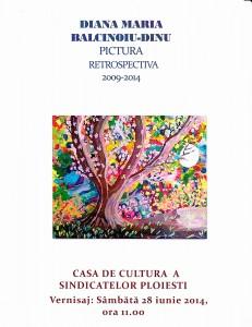 Expoziție de pictură, la Casa de Cultură a Sindicatelor din Ploiești