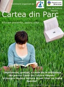 """""""Cartea din parc"""", un proiect ambiţios"""