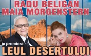 """Radu Beligan şi Maia Morgenstern, în """"Leul deşertului"""", pe scena Casei de Cultură a Sindicatelor"""
