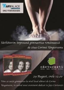 Vrei sa-i cunosti povestea gimnastei Corina Ungureanu? Du-te la AFI pe 29 August