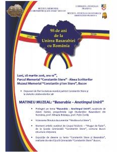 Basarabia – anotimpul unirii