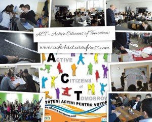 Proiectul ACT – Active Citizens of Tomorrow a ajuns la final