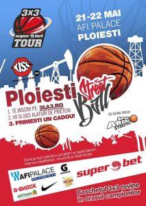 Circuitul național de baschet 3×3 SuperBet Tour va avea startul în AFI Palace Ploiești
