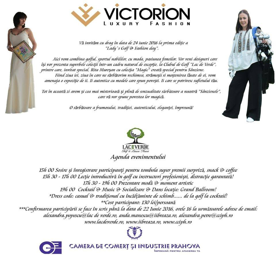 Invitatie Lady si Golf Fashion Day