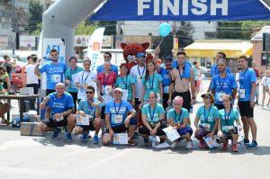 Ploiestenii pasionati de miscare au participat la prima editie a crosului AFI Summer Run