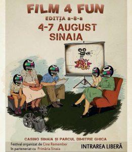 Ești fan al comediei? Vino la Film4Fun, la Sinaia, între 4-7 august!