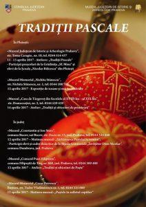 """""""Tradiții pascale"""", la Muzeul Judeţean de Istorie şi Arheologie Prahova"""