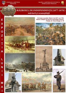 """""""Războiul de Independenţă (1877-1878) – mărturii şi recunoştinţă""""-expoziția lunii mai la MJIA Prahova"""
