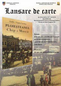 Lansare de carte, la Muzeul Judeţean de Istorie şi Arheologie Prahova