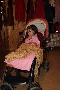 """Pentru Maria Pădure (8 ani), din Nistorești, viața este o luptă cu """"sabia"""" deasupra capului"""