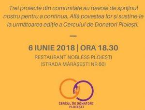 Vino la Cercul de Donatori Ploiești, pe 6 iunie, și fii parte din magia faptelor bune!